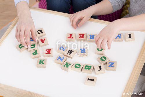 """Laden Sie das lizenzfreie Foto """"Wooden blocks with letters"""" von Photographee.eu zum günstigen Preis auf Fotolia.com herunter. Stöbern Sie in unserer Bilddatenbank und finden Sie schnell das perfekte Stockfoto für Ihr Marketing-Projekt!"""