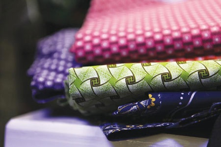 South African Shweshwe fabric - just perfect for quilting