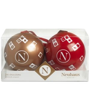 Neuhaus Chocolate-Filled Ornaments