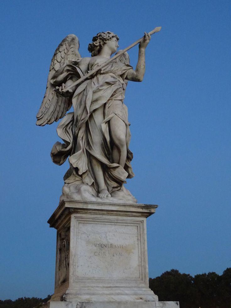 Um dos 10 Anjos de Bernini, Ponte Sant'Angelo