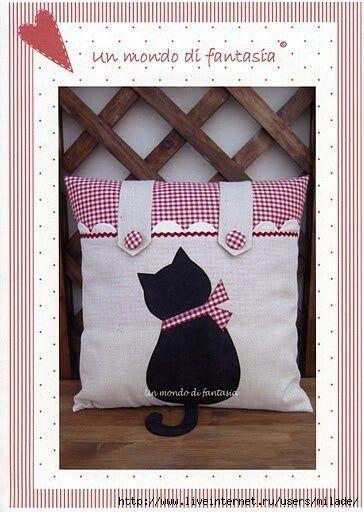 Almofada de gato.