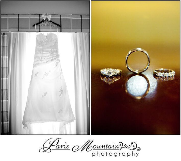 PARIS MOUNTAIN PHOTOGRAPHY Wedding Rings