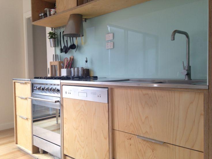 Kutu Ev scandi style kitchen ~ own design and hand built.