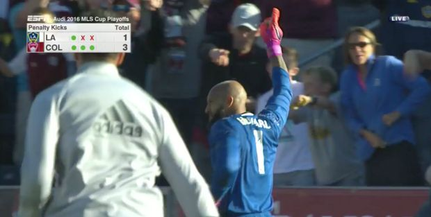 #MLS  Re-live the Colorado Rapids vs. LA Galaxy penalty kick shootout