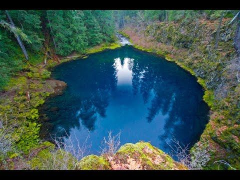 The Blue Pool Is One Amazing Place In Oregon You Need To See For Yourself - That Oregon Life