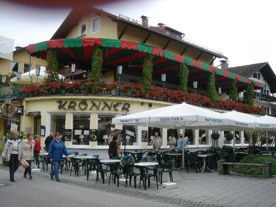 Konditorei & Kaffeehaus Kronner in Garmisch...my favorite place for a pastry