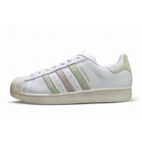 adidas superstar groen wit