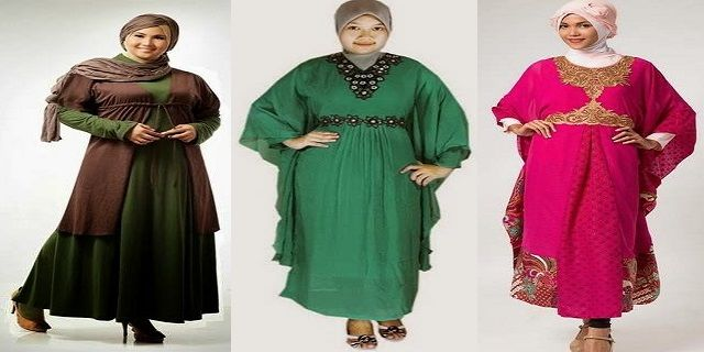 Model Pakaian Wanita Gemuk Berjilbab