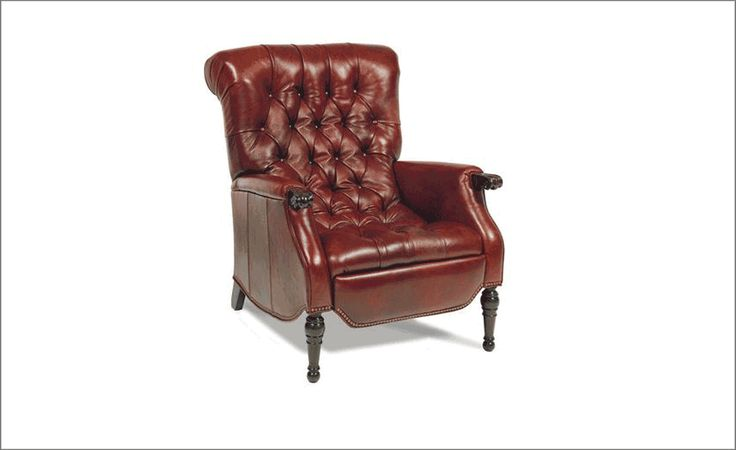 motioncraft leather tufted recliner marc pridmore