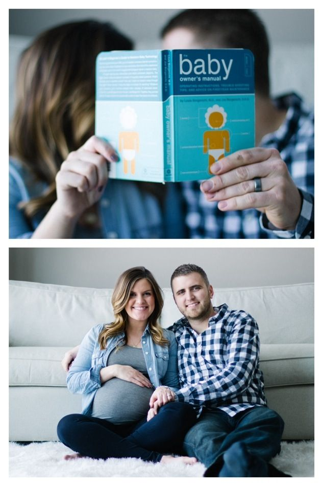 At home maternity picture ideas