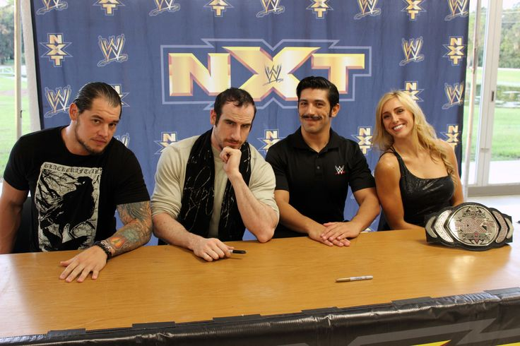 The NXT Universe in Wauchula met Baron Corbin, Simon Gotch, Aiden English, and the NXT Women's Champion Charlotte before the action got underway last night at NXT Live!