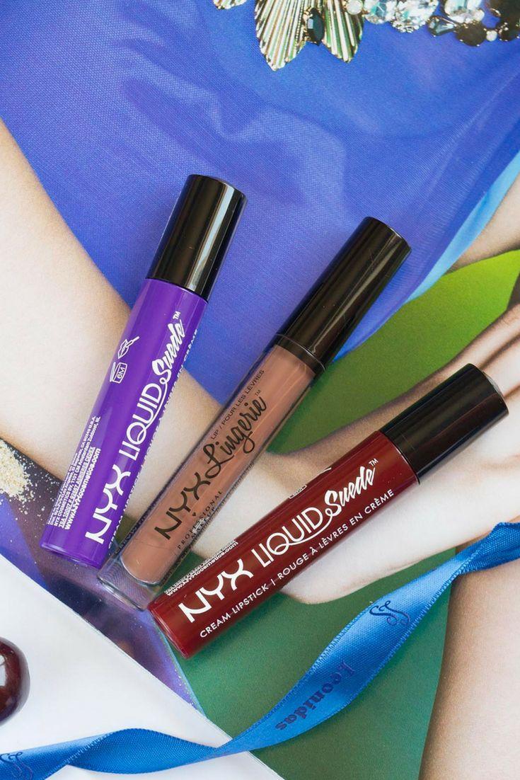 New In: Nyx Lingerie Lipstick & Nyx Liquid Suede Cream Lipstick