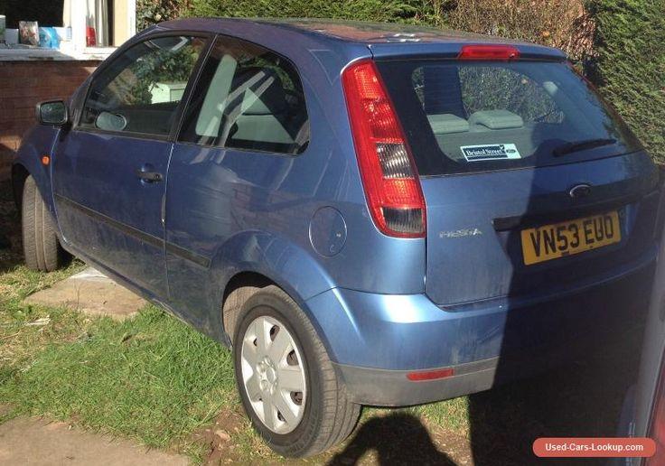 Low Mileage 2003 Ford Fiesta 1.3 Finesse MK6 petrol blue MOT Spares or Repair  #ford #fiesta #forsale #unitedkingdom