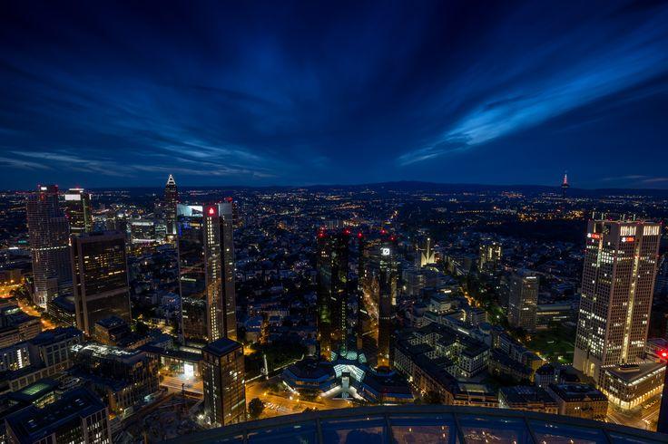 Frankfurt City bei Nacht!