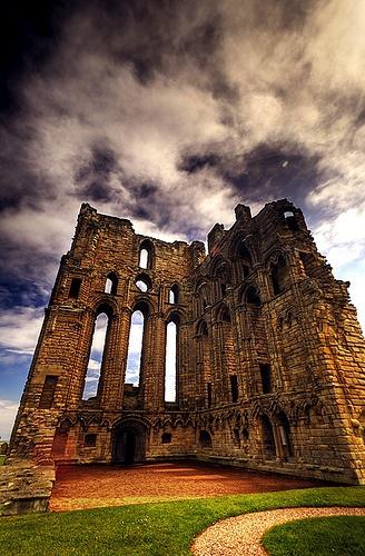 Tynemouth Priory, Newcastle Upon Tyne, UK.