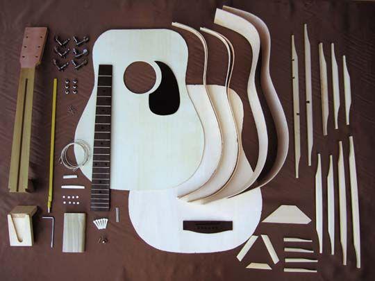 Stavebnice akustická kytara