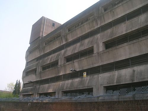 8) Wythenshawe, Manchester, England (derelict building)