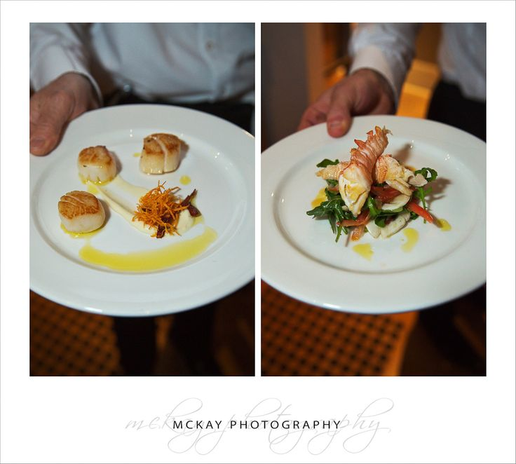 Dedes on the Wharf entree food - wedding venue in Sydney at Walsh Bay Pier 2  McKay Photography - http://www.mckayphotography.com.au