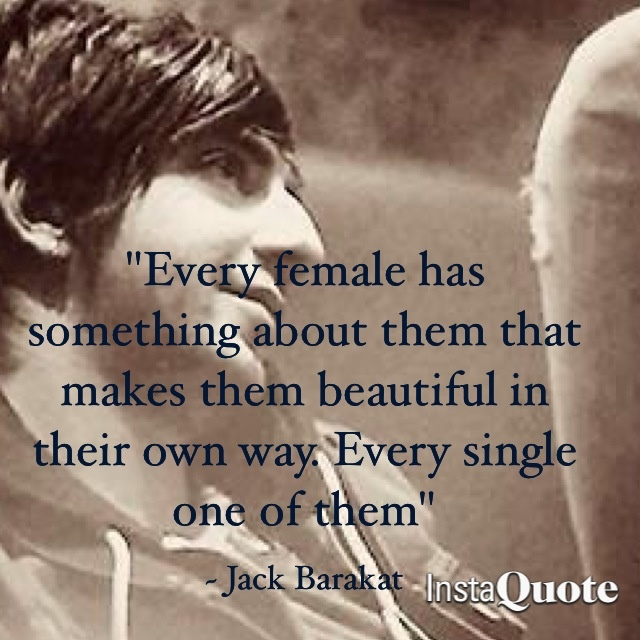 Jack Barakat!! This is the sweetest thing ever ❤