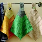 Knit a pretty vintage hand towel | .canadianliving.com