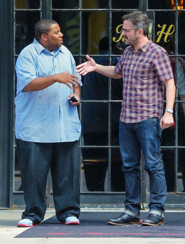 Marc Maron And Kenan Thompson's Secret Handshake