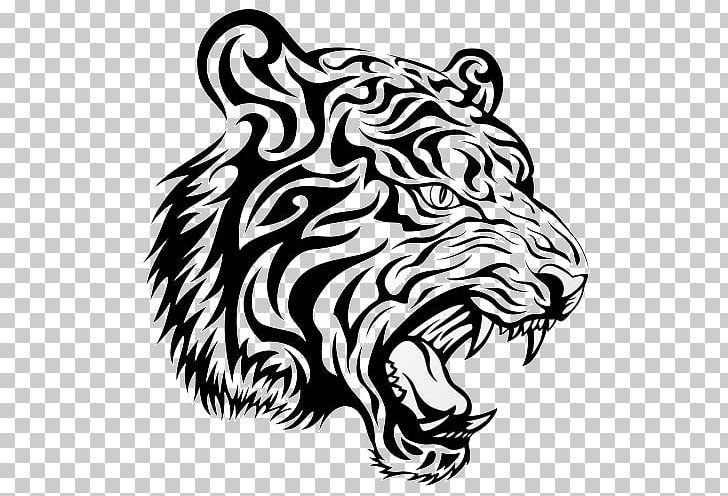 Tattoo Picsart Photo Studio Png Art Big Cats Black Black And White Carnivoran Tiger Tattoo Tiger Tattoo Images Tiger Head Tattoo