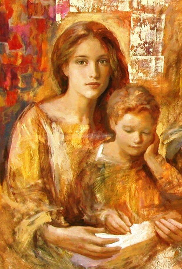 Gracias Jesús por regalarnos a María como Madre Nuestra! Gracias María por regalarnos a Jesús! #TotusTuus
