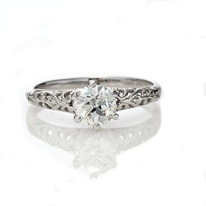 Antique Engagement Rings Shopping $2500