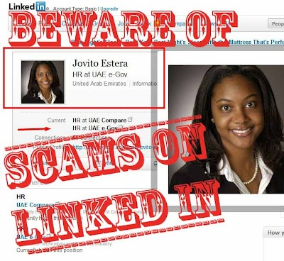 Dubious HR Profiles & Unrealistic Job Offers At Companies That Don't Exist. Welcome to 2012 Social Media Scams (LinkedIn)