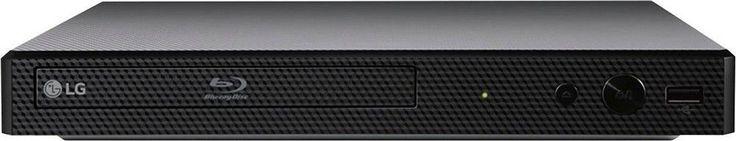 LG - Refurbished BP350 - Streaming Wi-Fi Built-In Blu-Ray Player - Black