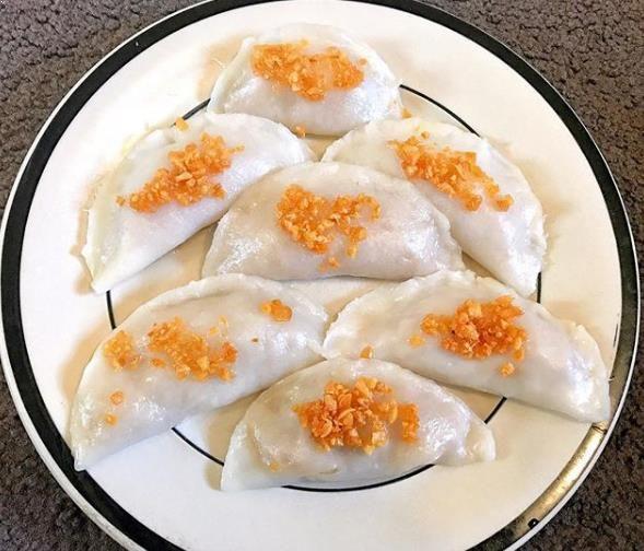 Chai Kwe Choi Pan Chai Kwe Atau Choi Pan Ini Merupakan Sajian Berupa Kue Berisi Sayur Yang Dibalut Dengan Adonan Tepung Beras Chai Kwe A Food Breakfast Pan
