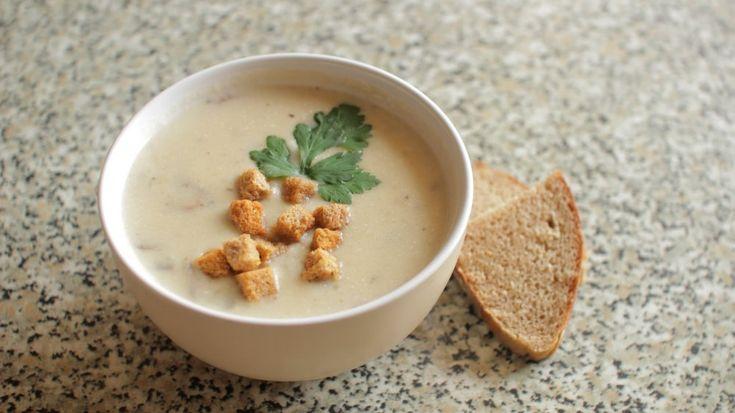 Сырно-грибной суп в мультиварке