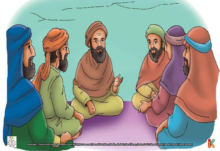Imam Al Ghazali Mencium Kain Kafan Sebelum Wafat