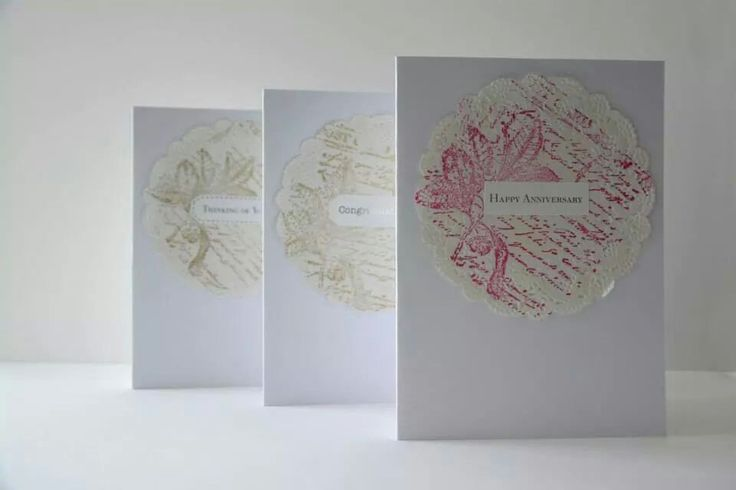 Various sentiment cards. Other colours available