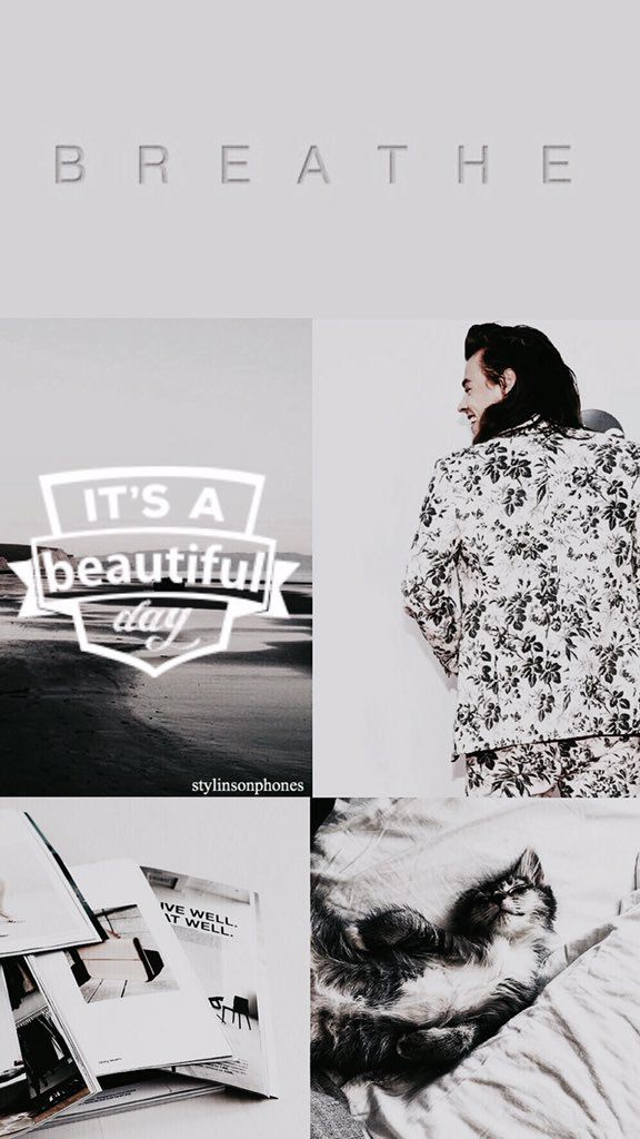 "Harry Styles ""Morning"" lockscreen from stylinsonphones on Twitter!"