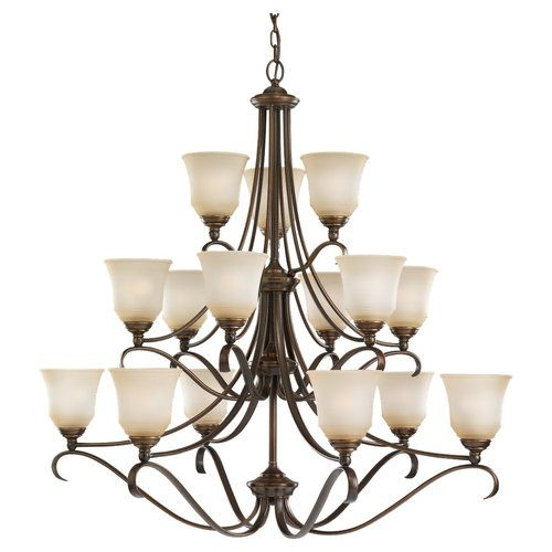 Sea gull s39382ble829 parkview large foyer chandelier chandelier russet bronze at ferguson com