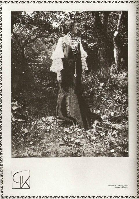 """Esta es la historia de la extraodinaria mujer que """"vistió"""" los cuadros de Klimt"""