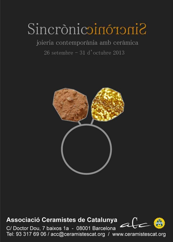 """Associació Ceramistes de Catalunya presents """"Sincrònic"""""""