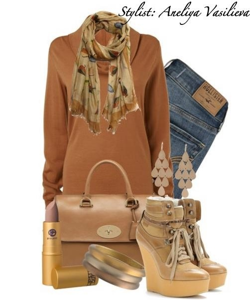 End of winter outfit