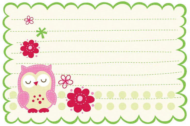 Tags e Etiquetas infantil para imprimir - Cantinho do blog Layouts e Templates para Blogger