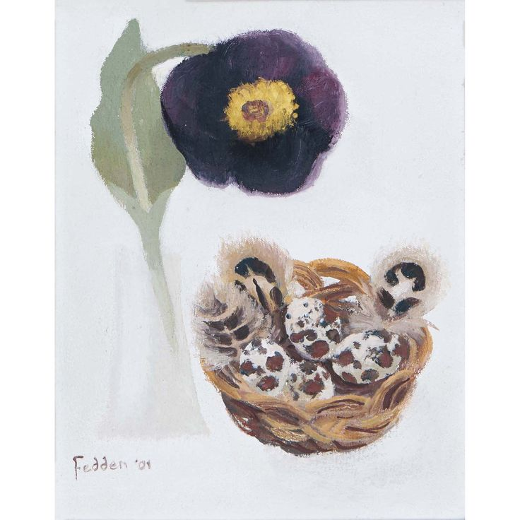 MARY FEDDEN. TULIP AND EGGS. 2004