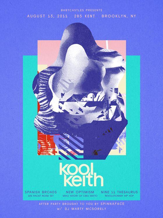 poster for Kool Keith / by EyeBodega