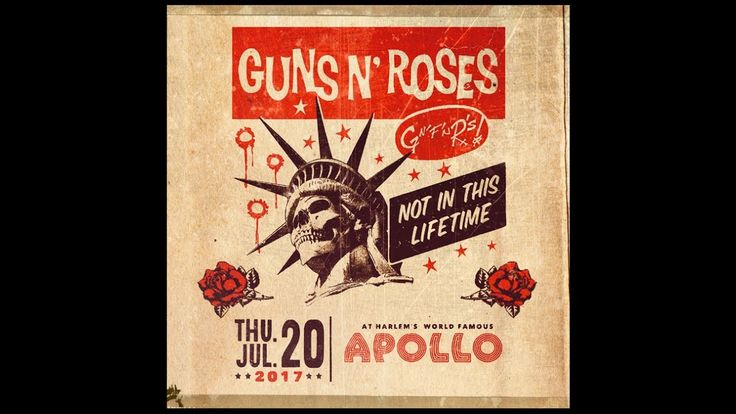 Guns N' Roses - Live At The Apollo Theater In NYC, July 20th 2017 **Soun...