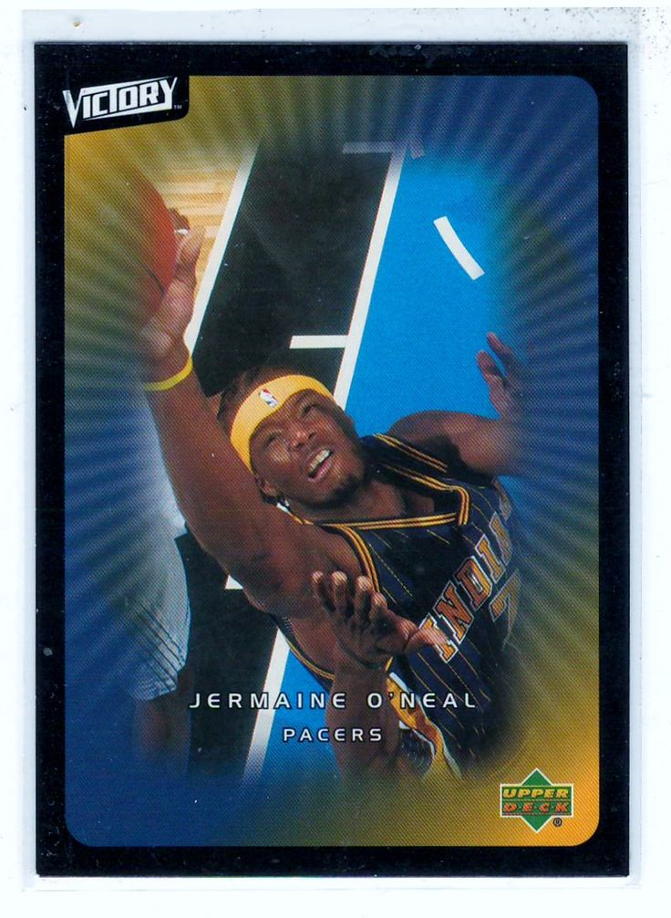 Sports Cards Basketball - 2003 UD Victory Jermaine O'Neal