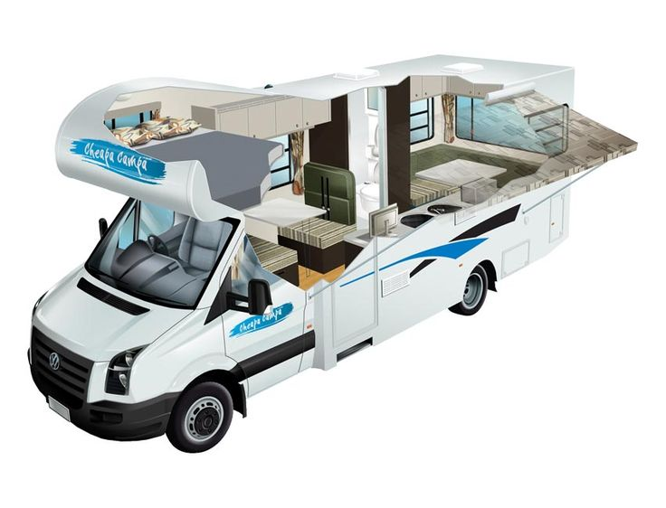 New Zealand Campervan Rental Vehicle Information Pack Deluxe 6 Berth Motorhome for Hire
