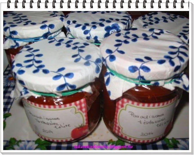 Takarékos konyha: Paradicsomos tésztaszósz télire