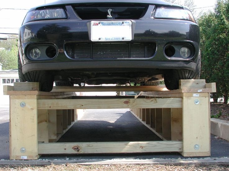 Diy Car Ramps : Images about diy lift car på pinterest hemmagjord