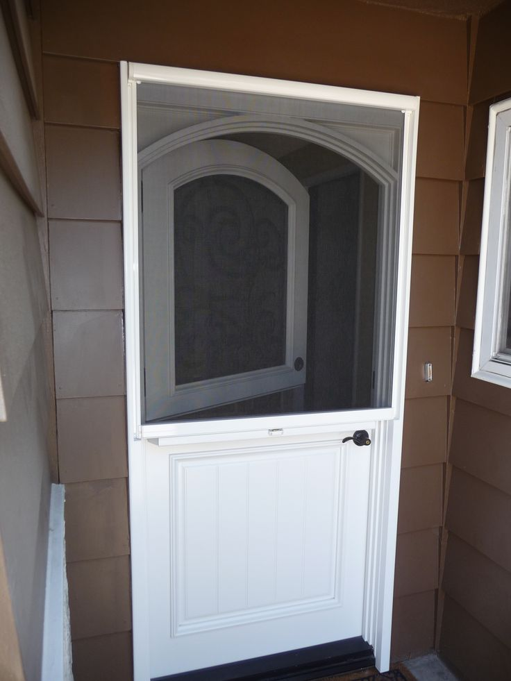 Dutch Doors Stowaway Arched Dutch Door Retractable