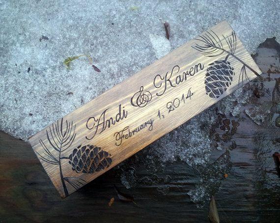 Winter wedding wine box, Wedding wine box, Wedding ceremony wine box, Personalized wine box, wine box ceremony, annversary gift wedding gift