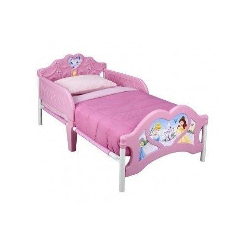 Princess-Toddler-Bed-Cinderella-Sleeping-Beauty-Disney-Bella-Accessories-Story